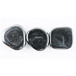 Lot (3) Magnetic Genuine Hematite Stones