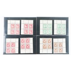 Group of (8) Canada Blocks x 4 Stamps - Nos. 263,