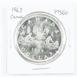1963 Canada Silver Cameo MS60