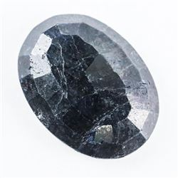Loose Gemstone (15.94ct) Oval Cut Blue Sapphire TR