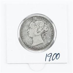 1900 NFLD 925 Silver 50 Cents