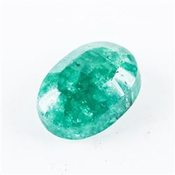 Loose Gemstone (5.48ct) Oval Cut Emerald TRRV: $16
