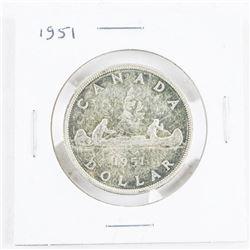 1951 CAD Silver Dollar