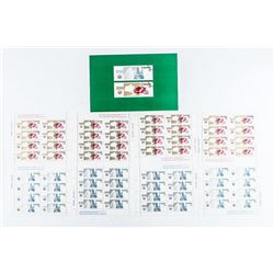 Canada - Mint Stamps 8 Sheets, 4x1.0, 4x2.00 8 Per