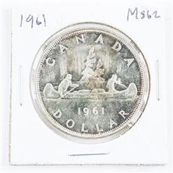 1961 Canada Silver Cameo MS62