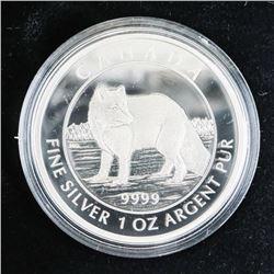 2014 .9999 Fine Silver $5.00 Coin 'Arctic Fox' LE