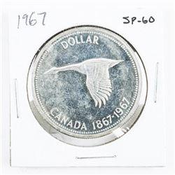 1867-1967 Silver Dollar SP-60