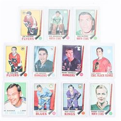 Lot (11) Vintage Hockey Cards, OPEE CHEE - 1960s