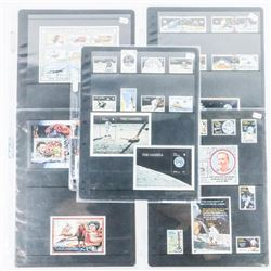 Apollo II - Landing Stamp Collection