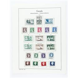 CANADA Official Stamps 1952/1963 22 Stamps
