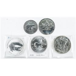 Group of (5) Collector Bullion Coins, Medals etc