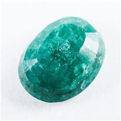 Loose Gemstone (5.08ct) Oval Cut Emerald TRRV: $15