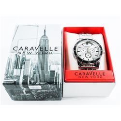 NEW Caravelle NEW YORK Gents Sport Watch MAY NEED