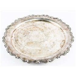 Estate Solid Sterling Silver (Approx 26oz) Tray Da