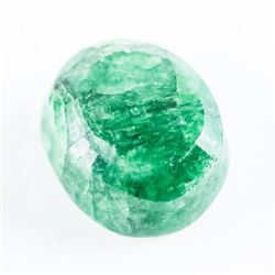 Loose Gemstone (8.77ct) Oval Cut Emerald. TRRV: $2