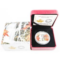 .9999 Fine Silver $20.00 Coin Autumn Falls
