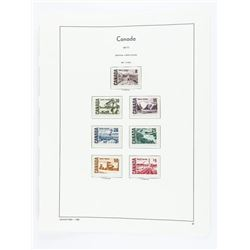 Canada 1967/1972 Definitives 7 Stamps