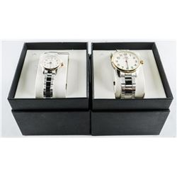 BULOVA Quartz Watch Set Matching 'HIS AND HERS' Ma
