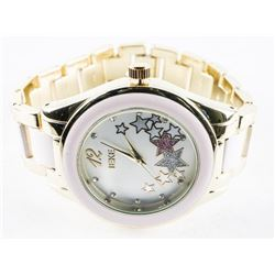 Ladies Fancy Quartz Watch (Pink)