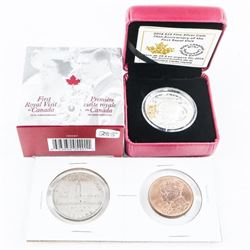 RCM .999 Fine Silver $25.00 Coin Ultra High Relief