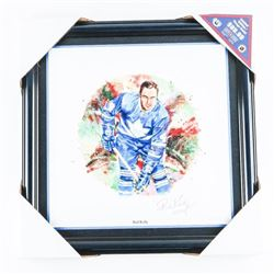 NHL ALL STAR 'Canvas' Red Kelly Signed LE - Canada