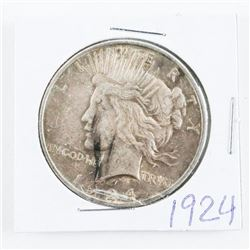1924 USA Silver Peace Dollars