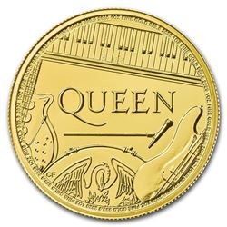 1oz Fine Gold Queen Coin. Collector Bullion.