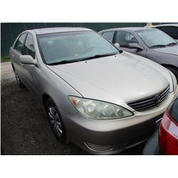 TOYOTA CAMRY 2005 T-DONATION