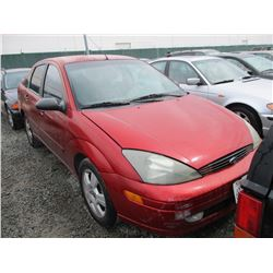 FORD FOCUS 2004 SALV T/DONATION