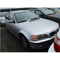 BMW 325I 2004 SALV T/DONATION