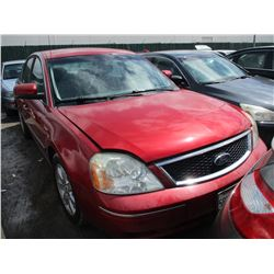 FORD FIVE HUNDRED 2005 T-DONATION