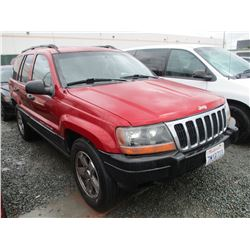 JEEP GR CHEROKEE 2002 T-DONATION