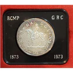 Canada 1973 RCMP Centennial Silver Dollar