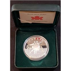 Canada 2001 The National Ballet of Canada 50th Anniversary Silver Dollar