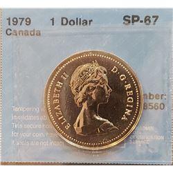 Canada 1979 Dollar, SP-67