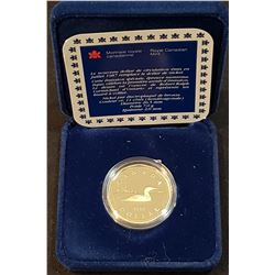 Canada 1987 Proof Loon with case and certificate