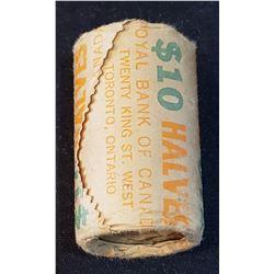 Canada 1979 Original 50 Cents roll