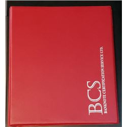 BCS Binder with 28 sleeves