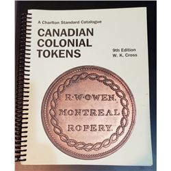 Charlton Canadian Colonial Tokens Catalogue 9th Edition