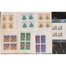 Lot of 7 Canada Stamps Sets