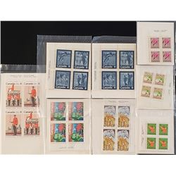 Lot of 8 Canada Stamps Sets