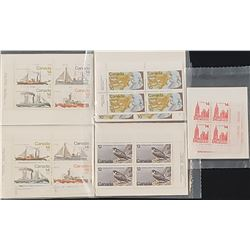 Lot of 5 Canada Stamps Sets