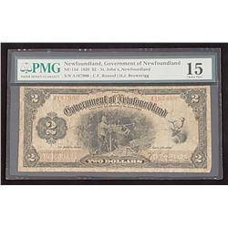 NFLD 1920 2$, Choice Fine 15