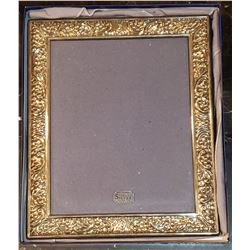 Vintage Sterling Silver 8 X 10 Picture Frame (Made in England by Carrs of Sheffield, in original box