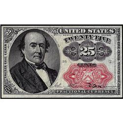 1874 Twenty-Five Cents Fifth Issue Fractional Currency Note