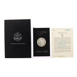 1883-CC $1 Morgan Silver Dollar Coin Uncirculated GSA Hoard w/ Box & COA