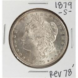 1879-S Reverse of 78' $1 Morgan Silver Dollar Coin