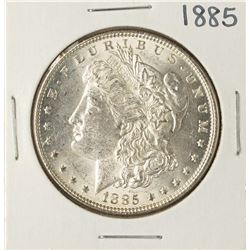 1885 $1 Morgan Silver Dollar Coin