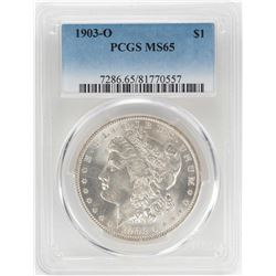 1903-O $1 Morgan Silver Dollar Coin PCGS MS65