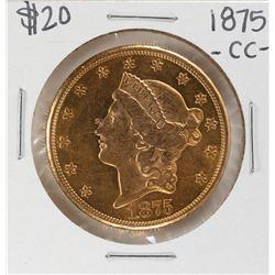 1875-CC $20 Liberty Head Double Eagle Gold Coin